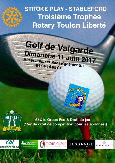 Troisième Trophée Rotary Toulon Liberté – 11 JUIN