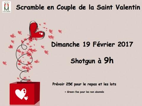 SCRAMBLE EN COUPLE DE LA SAINT-VALENTIN