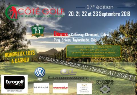 Côté Golf – 20 au 23 Septembre