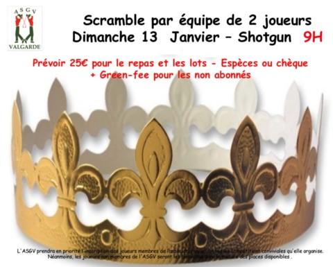 Scramble des Rois – 13 Janvier