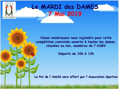 Mardi des Dames – 7 Mai