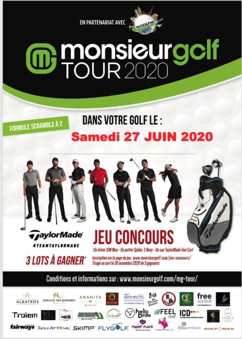 Monsieur Golf Tour – 27 Juin 2020